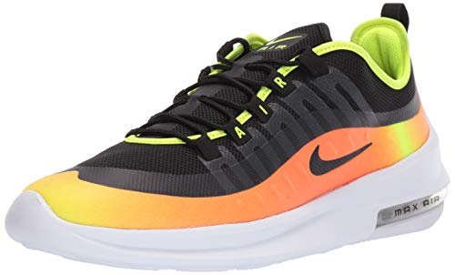 Nike Air MAX Axis Prem, Zapatillas de Atletismo para Hombre, Multicolor (Black/Black/Volt/Total Orange 000), 42 EU