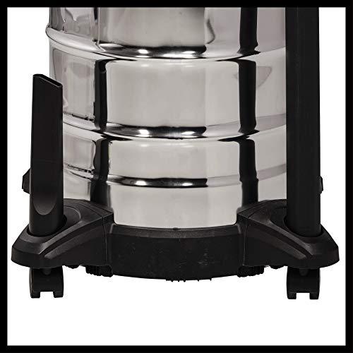 Einhell Aspirateur eau et poussière TC-VC 1930S (1500W, 30L, Cuve Inox, nombreux accessoires)