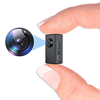 Mini Spy Camera,FUVISION Micro Camera with Motion Detect,1080P Full HD Hidden Camera with 1.5 Hours Battery Life,Hidden Security Camera with Loop Recording Perfect for Home and Office