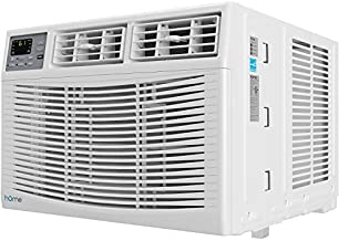 hOmeLabs 12,000 BTU Window Air Conditioner - Energy Star Certified AC Unit with Digital Thermostat and Easy-to-Use Remote Control - Ideal for Rooms up to 550 Square Feet