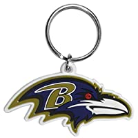 NFL Baltimore Ravens Flex Rubber Key Chain