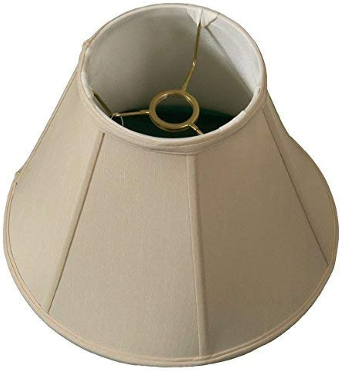 Royal Designs deep Empire Lamp Shade, Beige, 6 x 12 x 9.25, UNO Floor Lamp