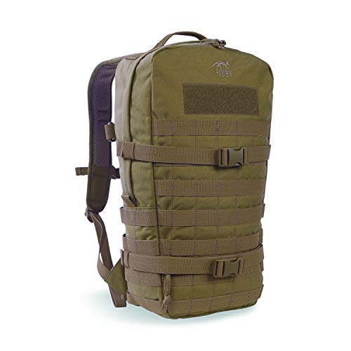 Tasmanian Tiger TT Essential Pack L MKII Molle Kompatibler 15L Daypack EDC-Rucksack, Khaki
