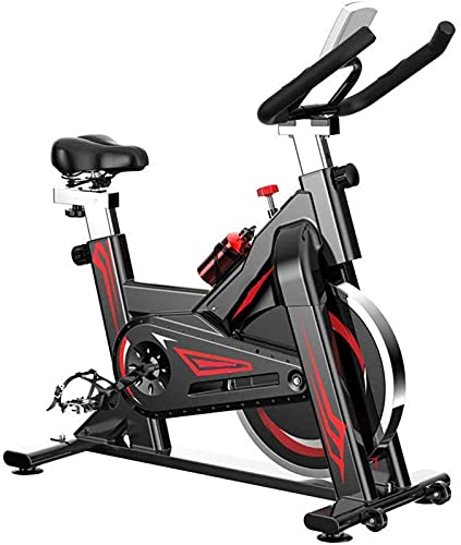 ZJDM Bicicletas de Ejercicio, Bicicleta de Ejercicio doméstica Ultra silenciosa para Deportes en Interiores y Exteriores Equipo de Ejercicios para Perder Peso con Asas y Asientos Ajustables, Equi