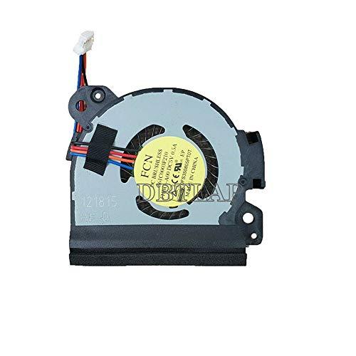 DBTLAP Ventilador de enfriamiento Ventilador Compatible para Toshiba Satellite R40-C Laptop Ventiladores de CPU de enfriamiento Ventilador 4-Pin G61C0003F210 DFS350805PT0T