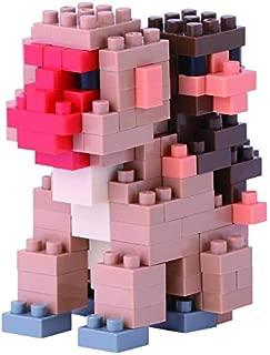 Nanoblock Mother & Baby Monkey Building Kit
