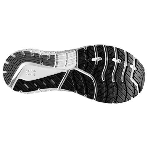 Brooks Mens Glycerin 18 Running Shoe - Black/Pewter/White - D - 11.0