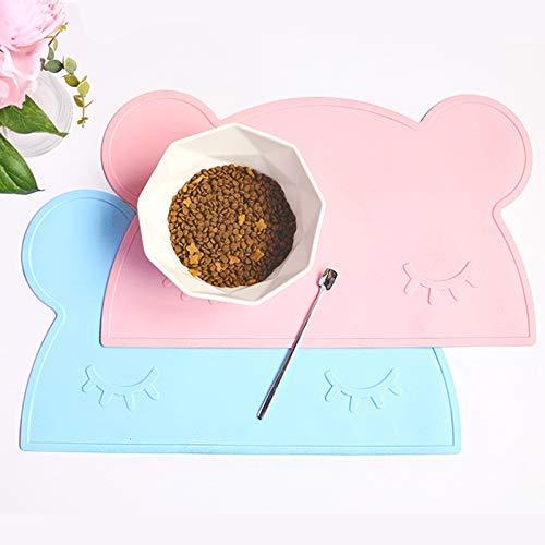 Rutschfestes Tischset aus Silikonbären, Isoliermatte für den Esstisch für Kinder, umweltfreundliche Silikon-Verbrühungsmatte in Lebensmittelqualität