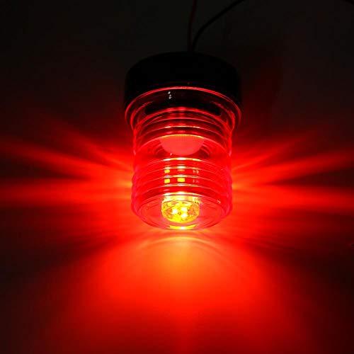 Akozon LED Boat Light,Signal Lamp All Round Anchor 360° LED Waterproof Navigation Light for Marine Boat Yacht 12V,Boat Yacht LED Light