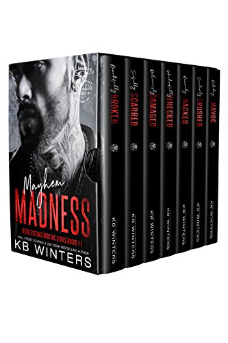 Mayhem Madness - Reckless Bastards MC Romance : The Complete Series Books 1-7