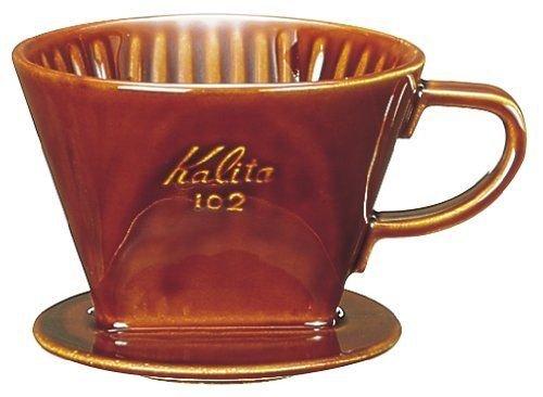 KALITA JAPAN Thuis cafe Hand Drip Koffie Dripper 102 Veel Bruin #02003