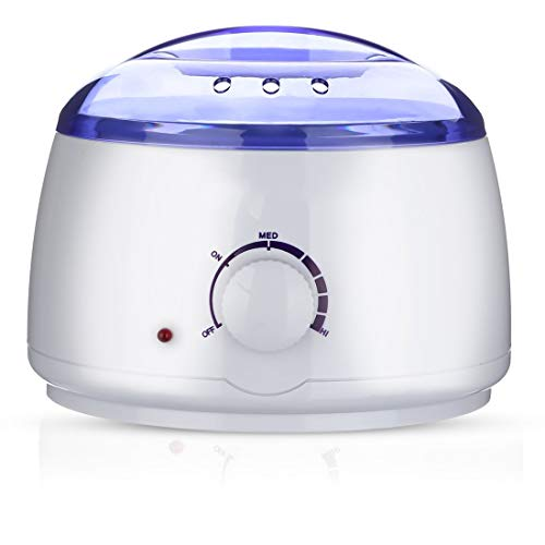 Multifunctional Electronic Mini Wax Warmer Household Melting Paraffin Hand Facial Waxkiss Heater (White)