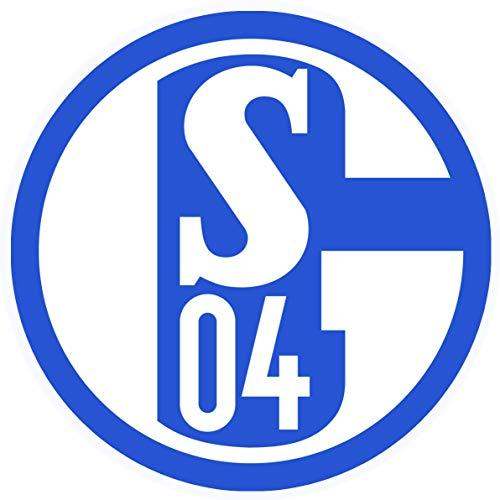 Essbarer Tortenaufleger Schalke 04 / 20 cm Ø – Cake Toppers, essbare Auflage