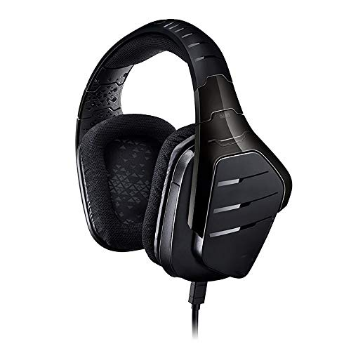 DHINGM PS4 Casque, PC Gaming Headset, 7.1 Surround Gaming Micro Gaming Headset, Jeux vidéo avec contrôle du Volume Flexible Microphone