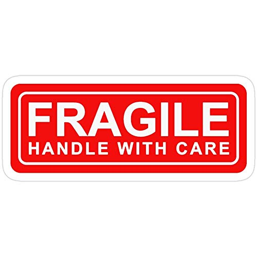 Cool Sticker For Cars, Trucks, Water Bottle, Fridge, Laptops Fragile - Handle With Care Stickers (3 Pcs/Pack) 61748487863