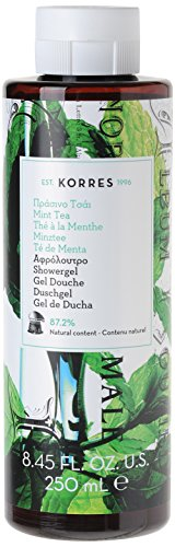Korres Mint Tea Duschgel,1er Pack (1 x 250 ml)
