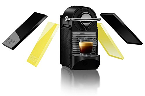 Krups Nespresso xn3020 Pixie Clips, 0,7 l, Black et Electric Lemon