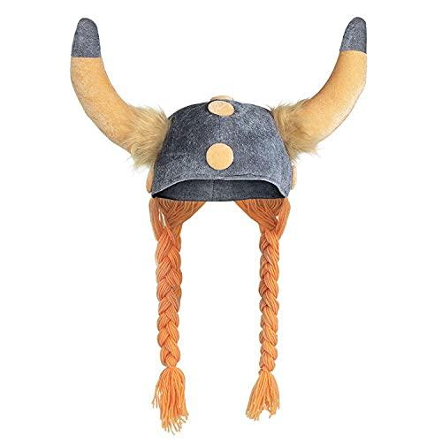 Gallic helmet for adults (gorro/sombrero)