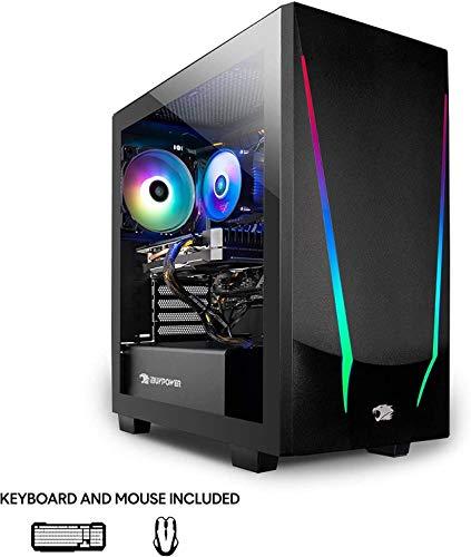 iBUYPOWER Gaming PC Computer Desktop (AMD Ryzen 5 3600 3.6GHz, AMD Radeon RX 5500 XT 4GB, 8GB DDR4 RAM, 240GB SSD, WiFi Ready, Windows 10 Home) w/OD Mouse Pad