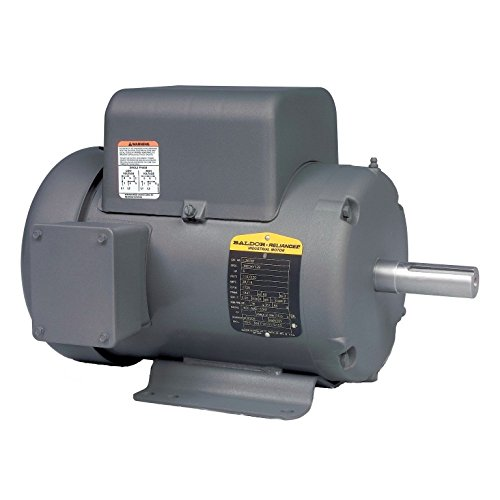 Baldor L3609T General Purpose AC Motor, Single Phase, 184T Frame, TEFC Enclosure, 3Hp Output, 1725rpm, 60Hz, 115/230V Voltage