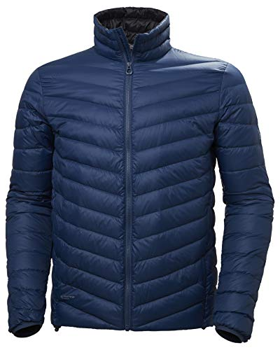 Helly Hansen Verglas Aislante Chaqueta de Pluma, Hombre, North Sea Blue, XL