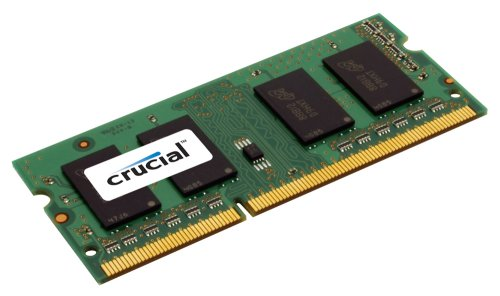Crucial Sodimm Laptop Memory Upgrade (4GB,204-pin,DDR3 PC3-8500,Cl=7,1.5v)