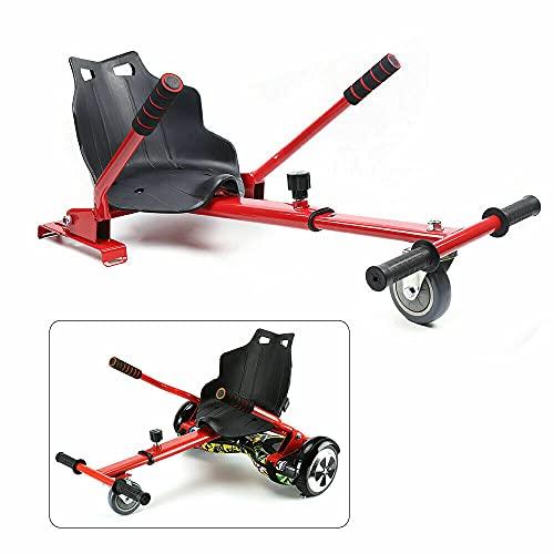 Silla Kart Seat compatible con patinetes eléctricos, Hoverboard Go Kart de 6,5/8/10...