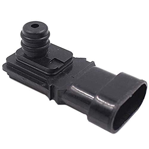 Sensor de presión de admisión de neumáticos de coche Fit para Opel Renault 2508500QAAA 8200121800 5WK9881 (Color : Black)