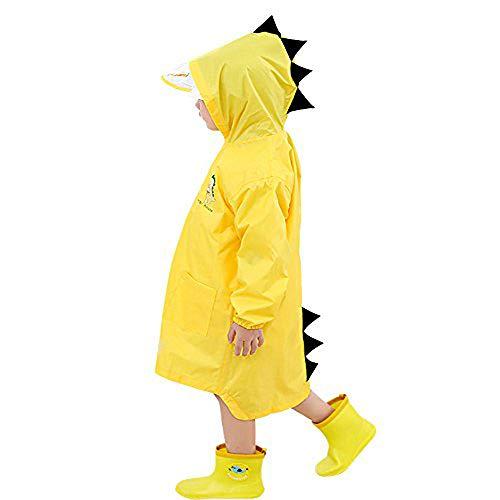 Kinder Regenmantel Kinder Regen Poncho für Jungen Mädchen Cartoon Wasserdicht Kind Kapuzen Regenjacke Regen Slicker Outdoor Regen Cape Alter 2~10