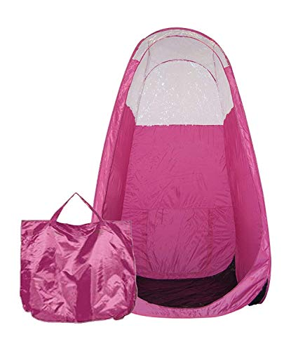 'Candy Pink' Pop-Up Spray Tanning Cubicle Booth - Maximist Tan Tent