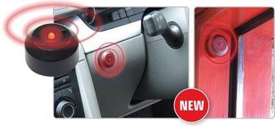 Motionperformance Essentials Alarme de voiture factice auto-adhésive sans fil à LED clignotante