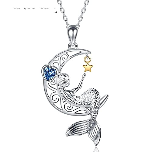 XQAQW 925 Sterling Silver Dog Pendant Necklace Human Friend Cadena Lindo Animal para Mujeres Fiesta -2_55Cm_and_5Cm