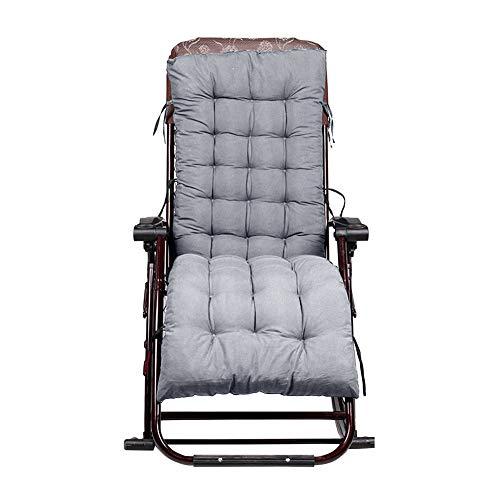 lem Cojín para tumbona, cojín de jardín y patio, cojines gruesos para muebles de jardín, tumbona, cojín relajante para silla (no incluye silla)