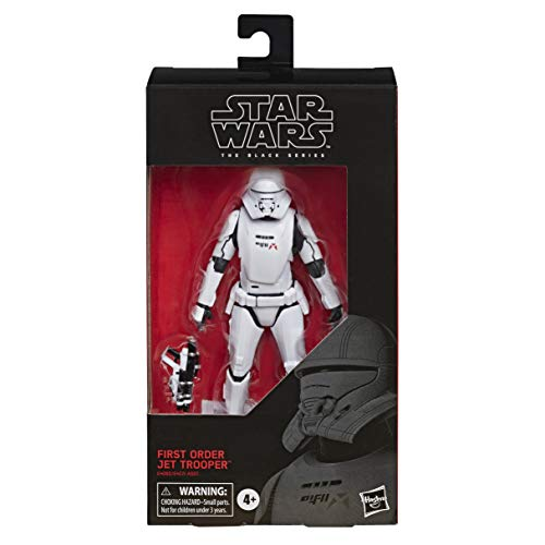 STAR WARS The Black Series First Order Jet Trooper Toy 6-inch Scale The Rise of Skywalker Collectible Figure, Kids Ages 4 and Up