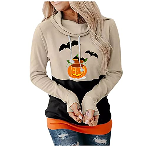 Womens Comfortable Short Sleeve Lightweight Zip-up Hoodie with Kanga Pocket Cute Halloween Sweaters Pullover Hooded Faux Jacket Casual Cotton Basic T Shirts Floral Top Slippers