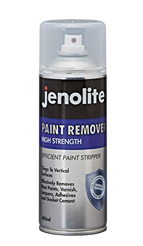JENOLITE Industrial Strength Paint Remover Spray - for Use On Brick, Metal, Wood, Concrete - Adhesives, Lacquers, Varnishes - 400ml