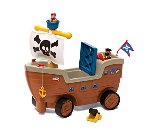 Little Tikes - 9062213 - Play 'n Scoot Pirate Ship - Jugar 'n Scoot Barco pirata