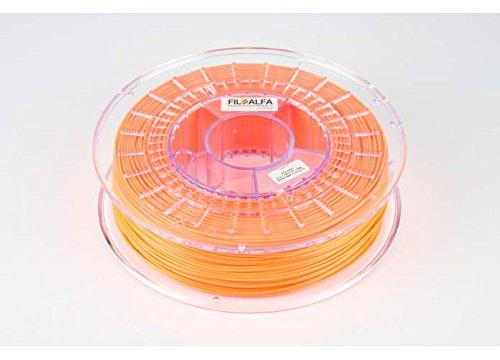 Filamento FiloAlfa 1.75mm PLA ARANCIO FLUO 700g