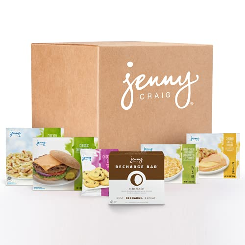 JENNY CRAIG RAPID RESULTS MAX WEEK 1 MENU - Eat better, live healthier and create new habits. 7 Full Breakfasts, Lunches, Dinners, Snacks and Desserts. Plus the Revolutionary Recharge Bar.
