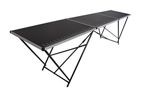 Tapeziertisch Stahl 300x60 cm, faltbar, Multifunktionstisch, Malertisch, Klapptisch, Flohmarkttisch, Partytisch