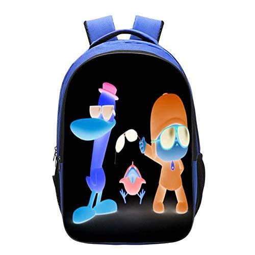 Mochilas Infantiles Impresión 3D Anime Mochila De Ocio Bolsa De Escuela Primaria Mochila Junior Cómoda 42 * 29 * 16CM D