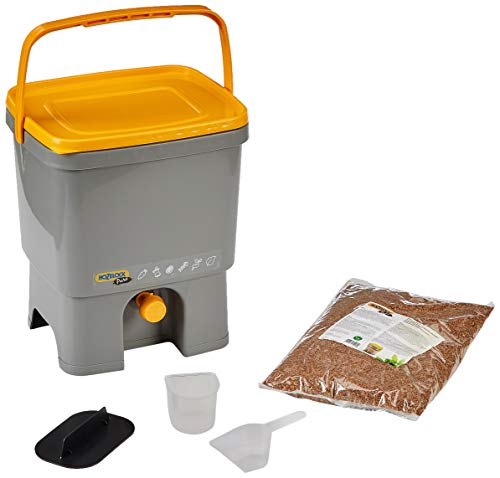 Hozelock Compostador 16 litros + 1 kg de activador Bokashi, Standard
