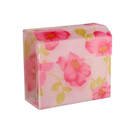 Tulip Flower Matériau Acrylique Porte étanche pour tissus porteurs de tissus WC