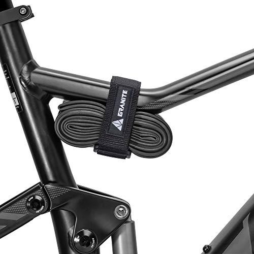 Granite Rockband - Correa de fijación de Velcro para Adulto, Unisex, 450 mm, Color Negro
