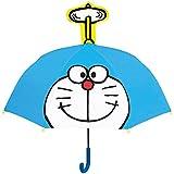 ジェイズプランニング 耳付き傘 ドラえもん 透明窓付き サイズ:47cm
