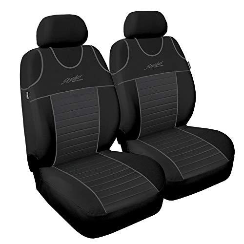GSC Sitzbezüge Universal Schonbezüge Stylus 1+1, kompatibel mit Nissan ALMERA