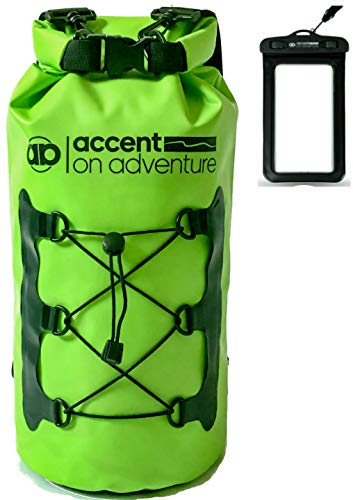 Premium Waterproof Dry Bag Compression Sack, Roll TopClosure 2 Detachable Shoulder Straps for...