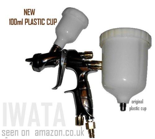 Anest Iwata Gravité Coupe en plastique Pistolet vaporisateur 100 ml Nouveau Modèle