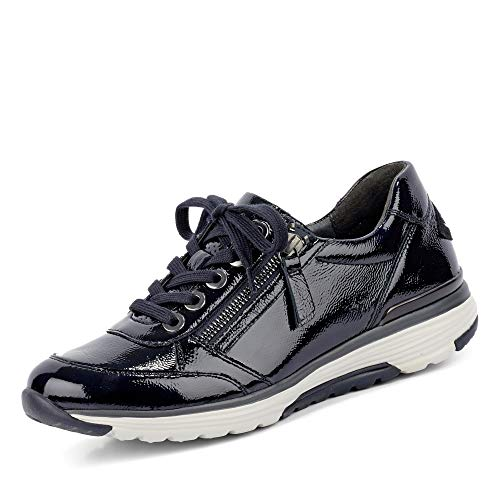 Gabor Rollingsoft Sneaker in Übergrößen Blau 36.973.26 große Damenschuhe, Größe:42