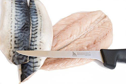 FLEXIBLE 6' FILLETING KNIFE BY DOLOMITEN INOX